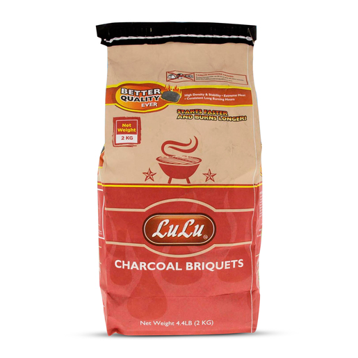 Lulu Barbecue Charcoal Briquests 2Kg