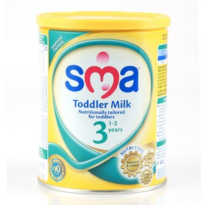 Sma Toddler Milk 3 From 1 - 3 Years 400g