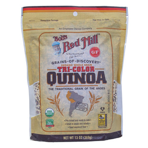 Bob's Red Mill Organic Whole Grain Tri Color Quinoa 369g