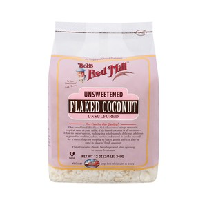 Bob's Red Mill Unsweetened Flaked Coconut 340g
