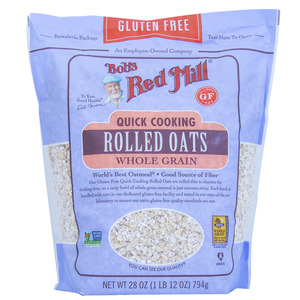 Bob's Red Mill Quick Cooking Rolled Oats Gluten Free 794g