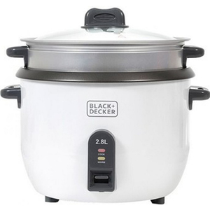 Black+Decker Rice Cooker RC2850B5 2.8Ltr