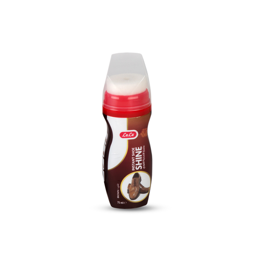 Lulu Instant Shoe Shine Liquid Brown 75ml