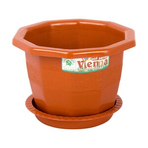 Green Leaf Vienna Floor Flower Pot 601 Assorted Colors