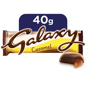 Galaxy Caramel Chocolate Bar 40g