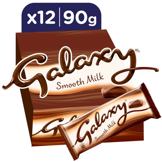 Galaxy Smooth Milk Chocolate Bar 90g