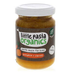 Little Pasta Organics Pasta Souce For Kids Pumpkin And Carrot 130g