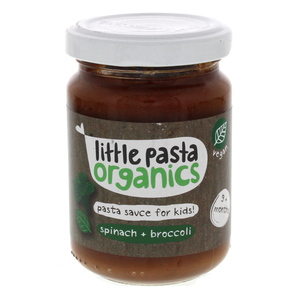 Little Pasta Organics Pasta Sauce For Kids Spinach And Broccoli 130g