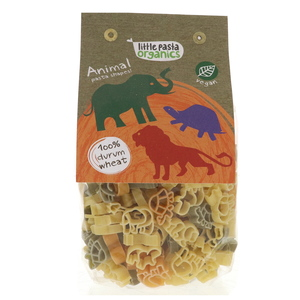 Little Pasta Organics Animal Pasta Shapes 250g