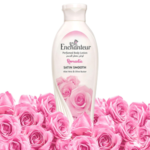 Enchanteur Satin Smooth Romantic Lotion with Aloe Vera & Olive Butter 250ml