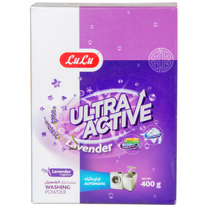 Lulu Ultra Active Washing Powder Lavender 400g