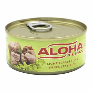 Aloha Light Flakes Tuna in Vegetable Oil 165g