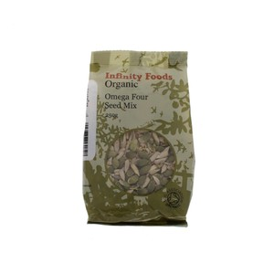 Infinity Foods Organic Omega Four Seed Mix 250g