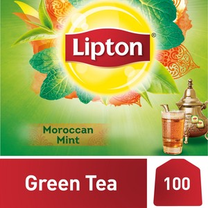 Lipton Green Tea with Moroccan Mint 100 Teabags