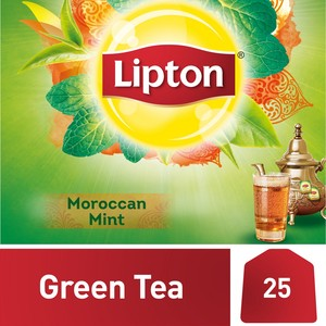 Lipton Green Tea with Moroccan Mint 25 Teabags