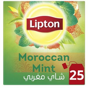 Lipton Green Tea Moroccan Mint 25pcs
