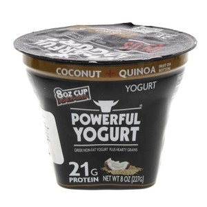 Powerful Coconut + Quinoa Low Fat Greek Yogurt 227g