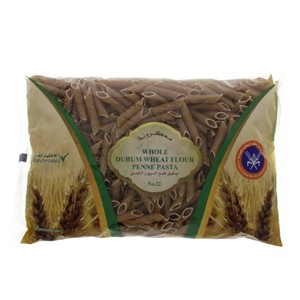 KFMBC Whole Durum Wheat Flour Penne Pasta No.22 400g