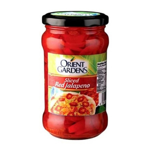 Orient Gardens Sliced Red Jalapeno 290g