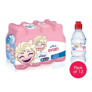 Evian Natural Mineral Water For Kids 330ml Assorted