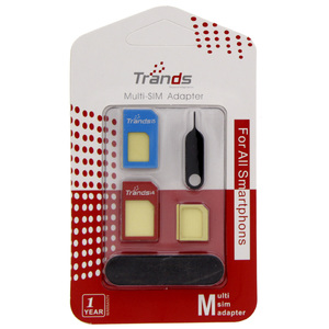 Trands Multi SIM Card Adapter TRSA6301