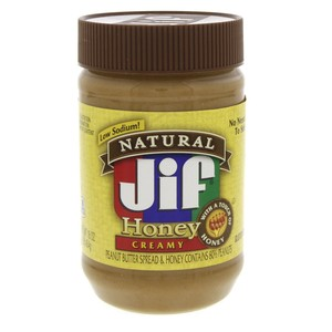 Jif Honey Creamy Peanut Butter Spread 454g