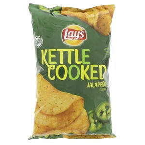 Lay's Kettle Cooked Jalapeno Flavored 184g