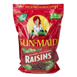 Sun Maid California Sun Dried Raisins 1kg