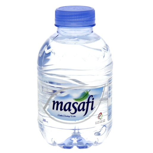 Masafi Bottled Drinking Water 200ml x 12 Pieces