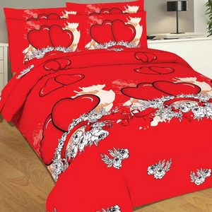 Bravo Single Comforter 3pcs Set Couple