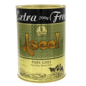 Aseel Pure Ghee 800g + 25% Extra