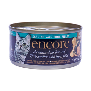 Encore Cat Food Sardine with Tuna Fillet 70g