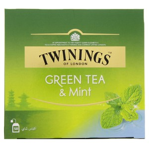 Twinings Green Tea & Mint 50s