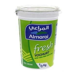 Al Marai Fresh Yoghurt Full Cream 500g