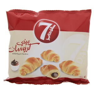7 Days mini croissant with cocoa cream filling 4pcs 44g