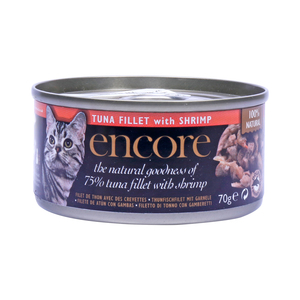 Encore Cat Food Tuna Fillet with Shrimps 70g