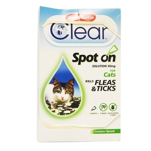Bob Martin Clear Spot On For Cats 50mg