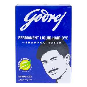 Godrej Liquid Hair Dye Natural Black  400ml