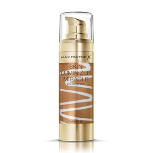 Max Factor Skin Luminizer Miracle Liquid Foundation 85 Caramel 30ml