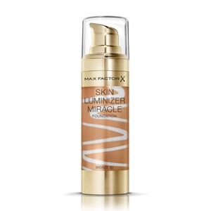 Max Factor Skin Luminizer Miracle Liquid Foundation 80 Bronze 30ml