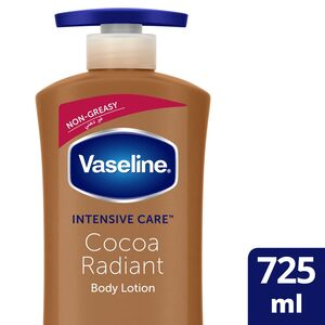 Vaseline Body Lotion Intensive Care Cocoa Radiant 725ml