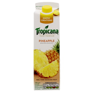 Tropicana Pure Pressed Pineapple Juice 850ml