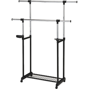 Home Style Garment Rack With Tray 8348802B