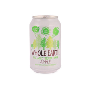 Whole Earth Organic Sparkling Apple Drink 330ml