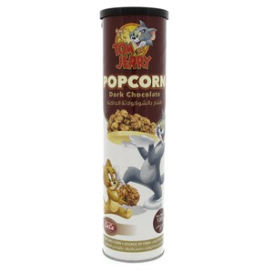 Lulu Popcorn Dark Chocolate 100g