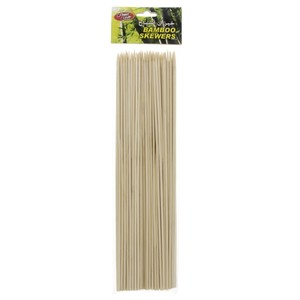 Home Mate Bamboo Skewers 30cm 100pcs