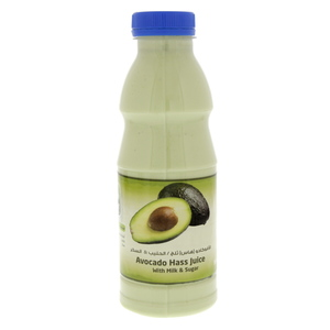 Lulu Fresh Avocado Hass Juice With Milk 500ml