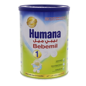 Humana Bebemil Infant Milk Formula 1 From 0 To 6 Months 400g