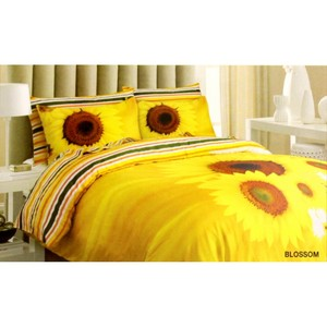 Barbarella Quilt Cover Double 4pcs Set Blossom