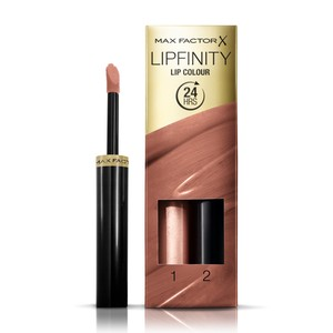Max Factor Lipfinity Lip Colour Lipstick 2-step Long Lasting 180 Spiritual 2pcs